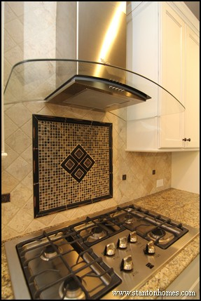 Tile Backsplash Ideas for Behind the Range | Raleigh Custom Homes