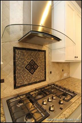 Tile Backsplash Ideas for Behind the Range | Raleigh Custom Homes