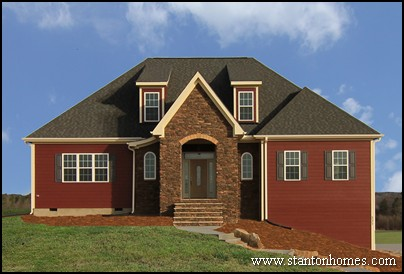 red farmhouse exterior photos farmhouse builders raleigh