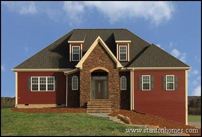 Red Farmhouse Exterior Photos | Farmhouse Builders Raleigh