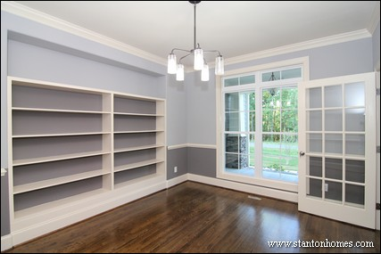 Custom Built In Bookcases | Built In Storage Ideas