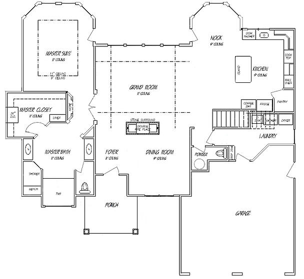 Main Floor Master Home Plan: New Home Building And Design Blog