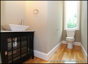 10 Powder Room Layouts for Small Spaces in 2018 Raleigh New Homes