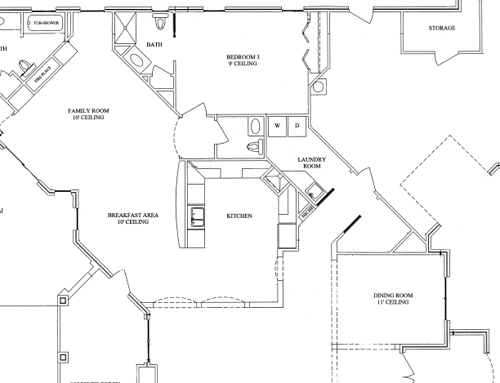 Powder Room Layouts For Small Es In Raleigh Custom Homes