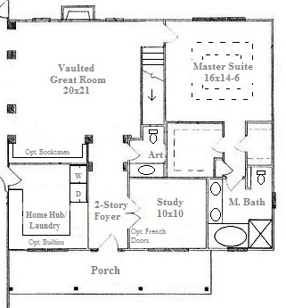 Powder Room Layouts for Small Spaces in Raleigh New Homes