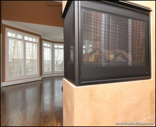 Fireplace in the Master Bedroom