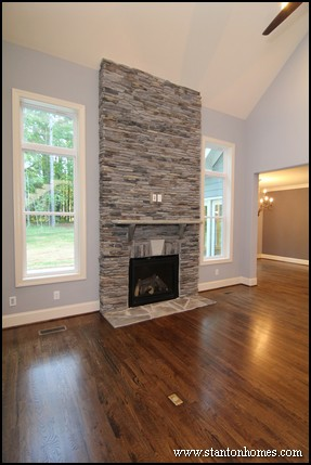 Custom Fireplace Design Trends for Raleigh homes. See over 80 photos of custom fireplaces.