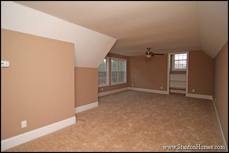 New home building and design blog home building tips for Cost to add garage and bonus room
