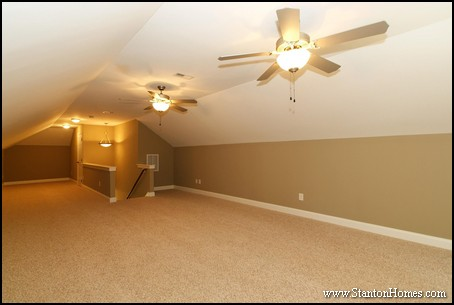 10 Ways to Use a Bonus Room Above your Garage   Raleigh New Homes