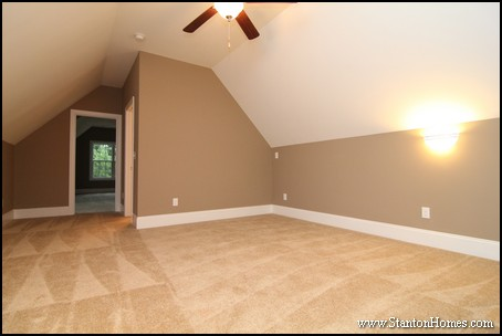 Bonus Room Above Garage | Raleigh New Homes