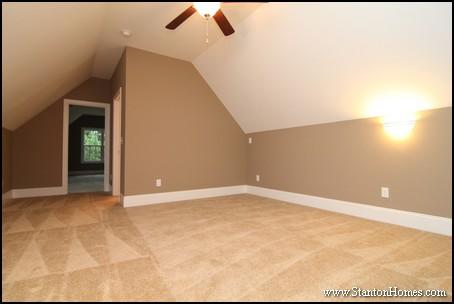 Bonus Room Above Garage | Raleigh New Homes