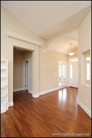 Master Bedroom Entrance Designs   Raleigh Custom Home Builders