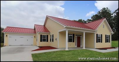 Yellow Farmhouse Exterior Photos | Farmhouse Builders Raleigh