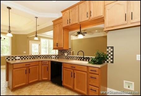 Kitchen Pass Through Ideas | 2014 Custom Home Design Part 50