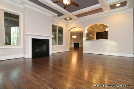 Floor Plans with a Great Room   Raleigh Custom Homes