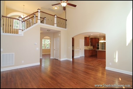 Two Story Living Rooms