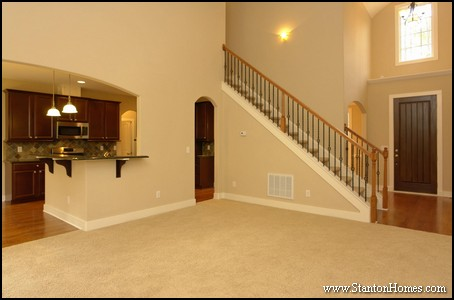 Two story living room ideas