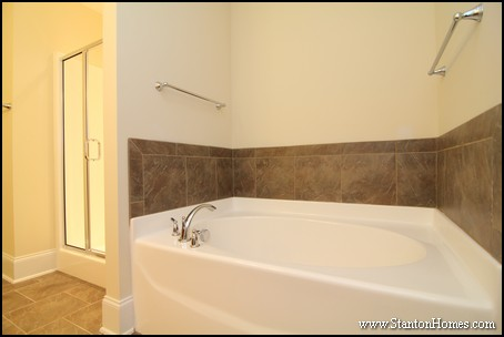 Tile Tub Ideas | Fuquay-Varina New Homes