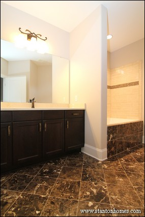 Tile Tub Ideas | Fuquay-Varina New Homes