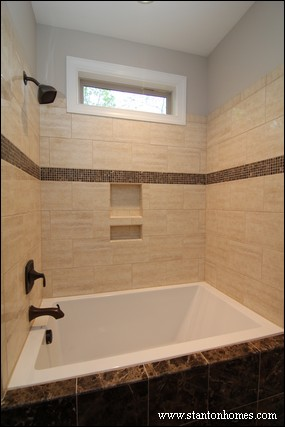 Tile Tub Ideas | Fuquay Varina New Homes