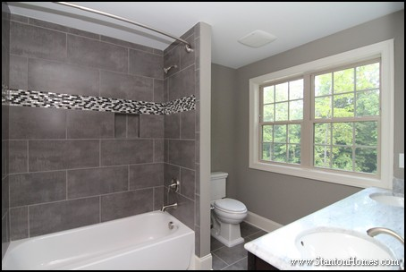 Tile Tub Ideas   Fuquay-Varina New Homes