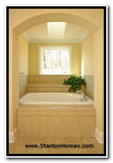 2011 Master Bath Trends | NC Custom Home Builders
