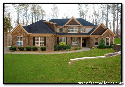 Roof styles how to keep costs down in your new custom home for Accessible home builders