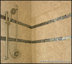 Bathroom Tile Trends Custom Tile Mini Mosaic Designs