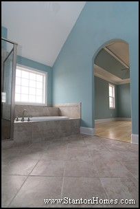 Most Requested Master Bath Features | Vaulted Master Bathroom