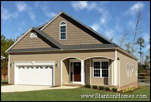 Superbe Top 7 New Home Exterior Types | North Carolina New Home Exteriors