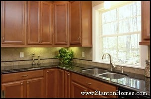 Custom Kitchen Tile Backsplash