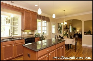 Kitchen Island Ideas | 2012 New Home Kitchen Styles