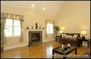 Hardwood Flooring Custom Homes