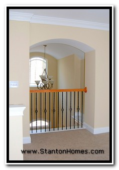 What is a Barrel Vault Foyer, Photos of Barrel Vault Foyers, NC Custom Home Builders