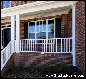 Front Porch Beadboard Ceiling Treatment