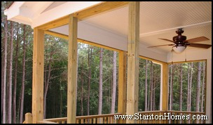 Screen Porch Beadboard Ceiling