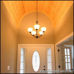 Barrel Vault Beadboard Foyer
