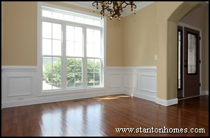 Wainscoting Wall Treatment