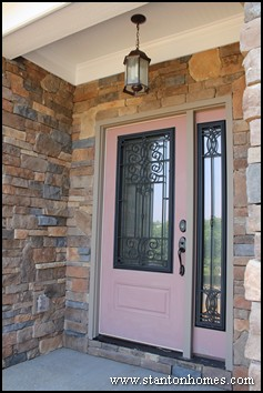 Glass Front Door Styles North Carolina New Home Front Door Ideas