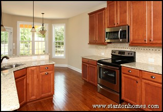 Maple Kitchen Cabinets   Cabinet Styles for Chapel Hill New Homes