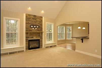 Great Room Floor Plans   Raleigh New Homebuilder