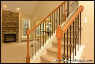 Iron Baluster Staircase