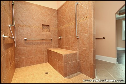 Etonnant Accessible Bathroom Shower Design For Wheelchair Accessible Homes