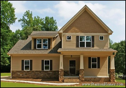 Chapel Hill Home Builders | Craftsman Style Front Porch