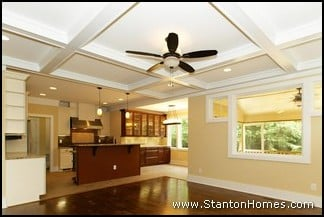 Coffered Ceiling Treatment