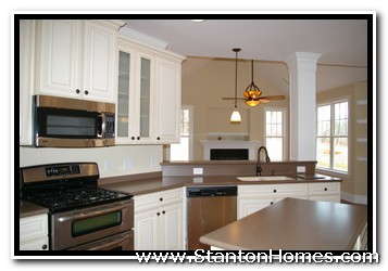 Cabinet Wood Choices | NC Custom Home Builders | Raleigh Custom Homes