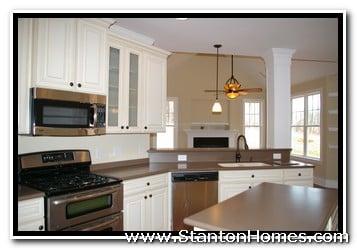 Cabinet Wood Choices | NC Custom Home Builders | Raleigh Custom Homes