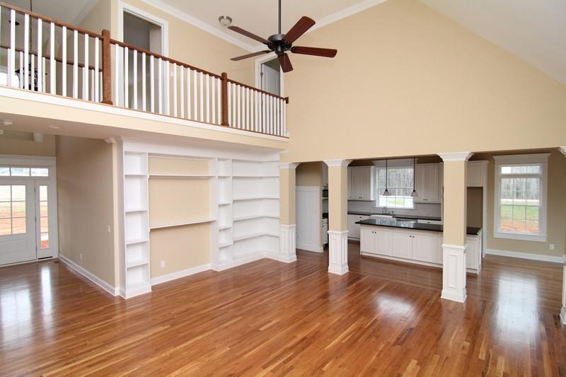 Great Room Floor Plans   Raleigh Custom Home Builders