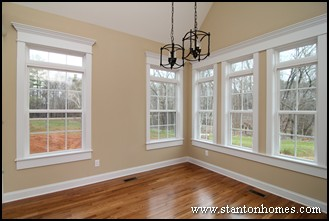 Charmant ... Molding Vinyl Source · Craftsman Style Interior Window Trim Interior  Ideas