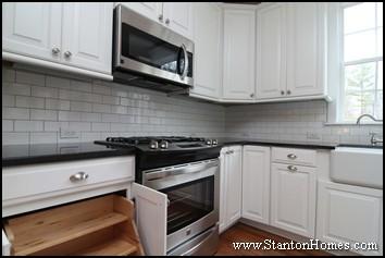white subway tile backsplash ideas kitchen design trends